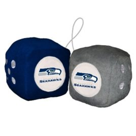Seattle Seahawks | Fuzzy Dice