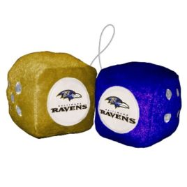 Baltimore Ravens | Fuzzy Dice