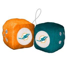 Miami Dolphins | Fuzzy Dice