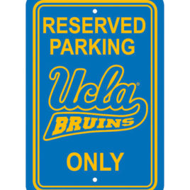 UCLA Bruins | 12″ X 18″ Plastic Parking Sign