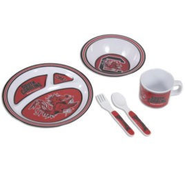 South Carolina Gamecocks | Kid's 5 Pc. Dish Set