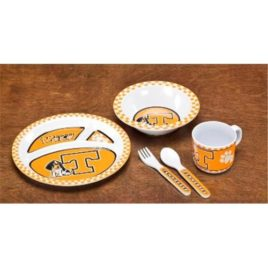 Tennessee Volunteers | Kid's 5 Pc. Dish Set