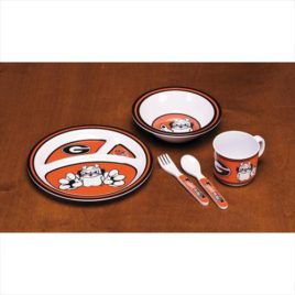 Georgia Bulldogs | Kid's 5 Pc. Dish Set
