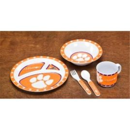 Clemson Tigers | Kid's 5 Pc. Dish Set