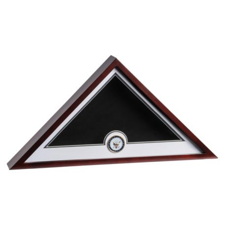Medallion Flag Display Case - Navy