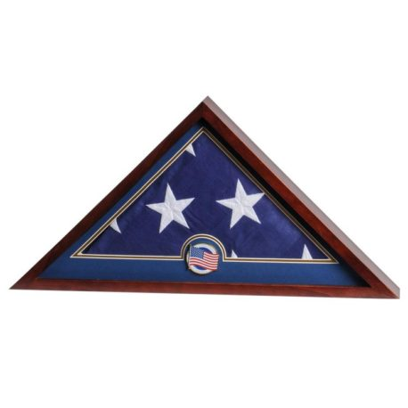 Medallion Flag Display Case - U.S. Flag