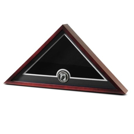 Medallion Flag Display Case - POW/MIA